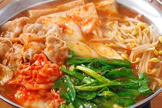 豚キムチ鍋